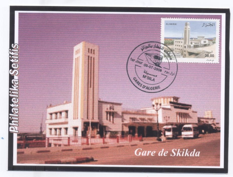 """Emission """"Gares d'Algérie"""" du 09 Juillet - Page 2 Gare_d15"""