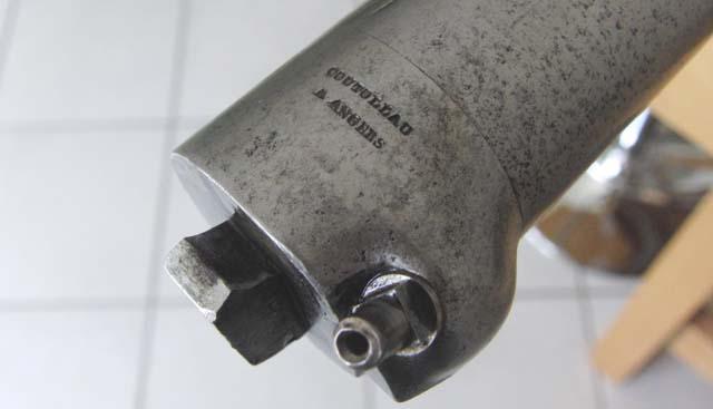 Fusil Coutolleau système percutant Brunéel Pontcharra Canon610