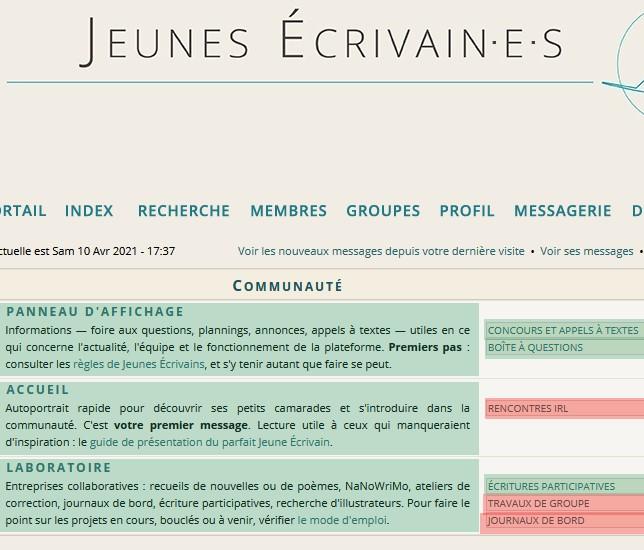 Forum des Jeunes Écrivains - Portail Je-pla10