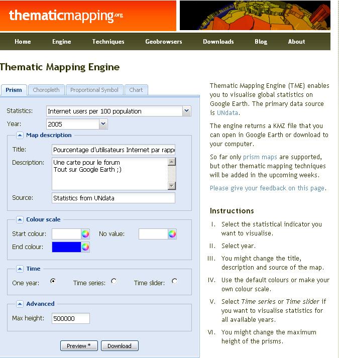 GE se prend pour un logiciel de cartographie thématique Themat10