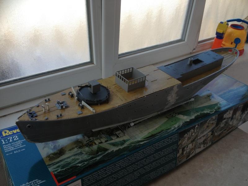 corvette HMCS SNOWBERRY 1/72eme revell  Img_0110