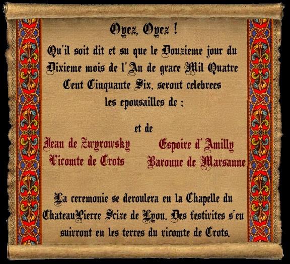 [RP] Mariage d'Espoire d'Amilly et Jean Zwyrowsky Espoir12
