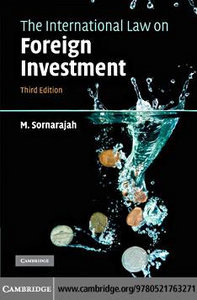 The International Law on Foreign Investment 00187710