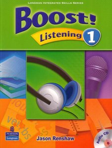 Boost! Listening 1 Student Book with Audio CD 001ad610