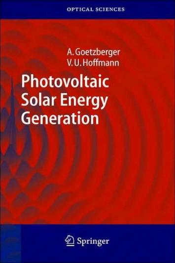 Photovoltaic Solar Energy Generation 001e7810