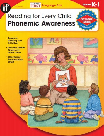 Reading for Every Child, Phonemic Awareness: K - 1 (Reading First; Language Arts) 001f3a10