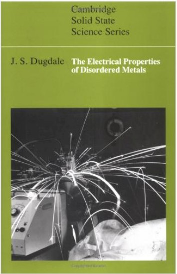 The Electrical Properties of Disordered Metals 001f3d10
