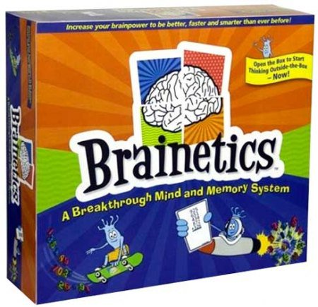 Collection of video Brainetics Deluxe Math and Memory Set 2012 - 7DVD 10566310
