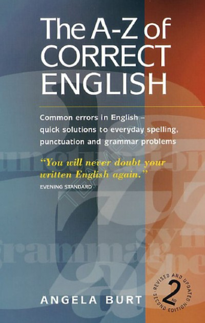 The A-Z of Correct English Common Errors in English  2cd2f311