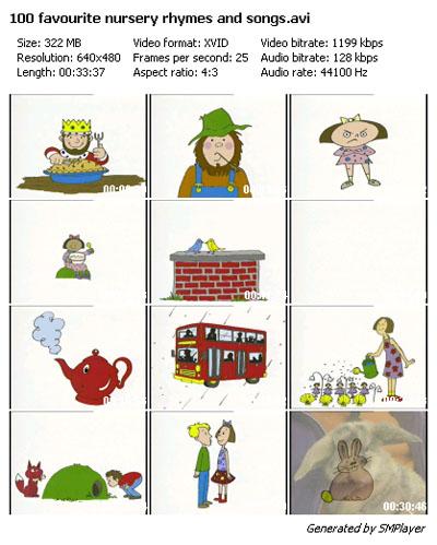 100 Favorite nursery rhymes & songs 34217011