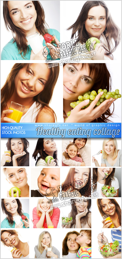 Healthy eating collage 352hz10