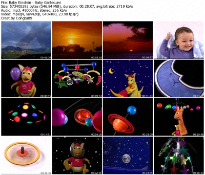 Baby Einstein - Baby Galileo: Discovering the Sky - DVDrip XVID 36580010