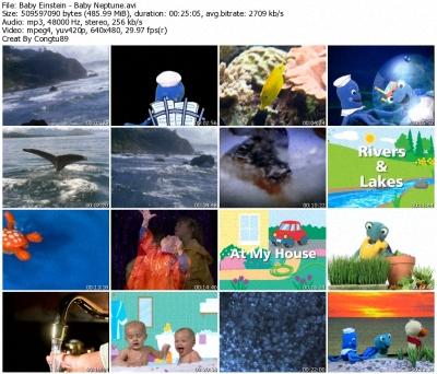 Baby Einstein - Baby Neptune: Discovering Water - DVDrip XVID 36591410