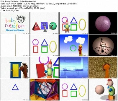 Baby Einstein - Baby Newton: World Of Shapes -  DVDrip XVID 36605510