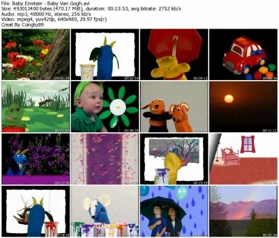 Baby Einstein - Baby Van Gogh - World of Colors - DVDrip XVID 36661010