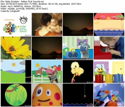 Baby Einstein - Baby's First Sounds: Discoveries for Little Ears DVDrip XVID 36679910