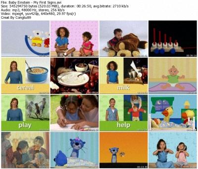 Baby Einstein - My First Signs DVDrip XVID 36697511