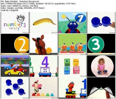 Baby Einstein - Numbers Nursery - DVDrip XVID 36699510