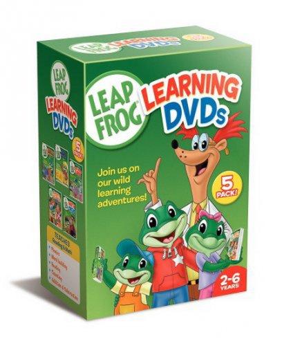 Leapfrog Learning DVDs 5-Pack 3df98e10