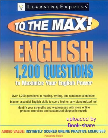 1 200 Questions That Will Maximize Your English Power 45122110