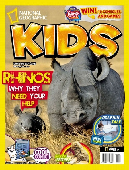 National Geographic KIDS - January 2012 (South Africa) 48120910