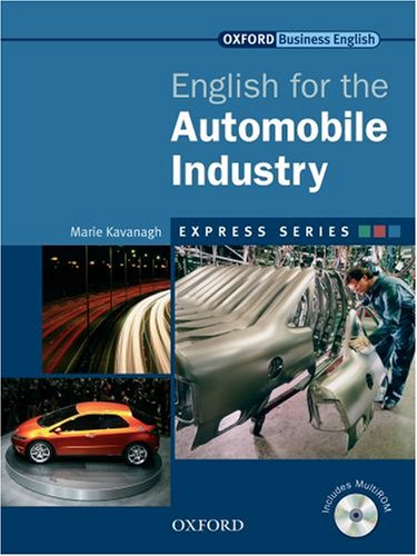 English for the Automobile Industry (MultiRom with Book) 51wofs10