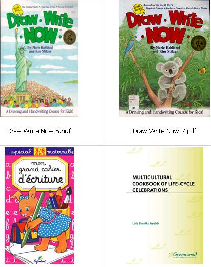 Arts & Handwriting Ebooks Collection for Kids  6ec64110