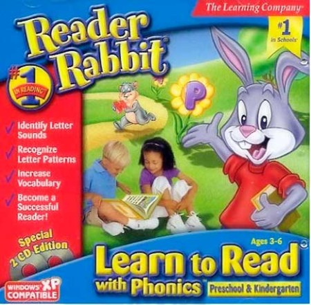 Reader Rabbit Learn To Read With Phonics A4d74f10