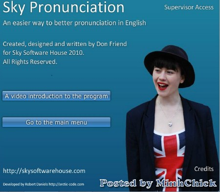 Sky English Pronunciation Portable Ac215210