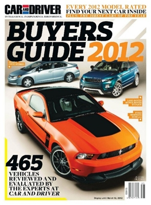Car and Driver (Buyers Guide) 2012 Bdb5b110