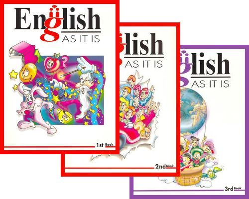 English • AS IT IS • English Course • Books 1-2-3 (1997) Bf756510