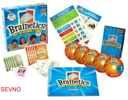 Collection of video Brainetics Deluxe Math and Memory Set 2012 - 7DVD Cfdd1210