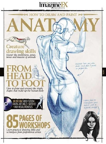 Anatomy - How to Draw and Paint [2010] [Full Complete PDF+DVD] F9b70910