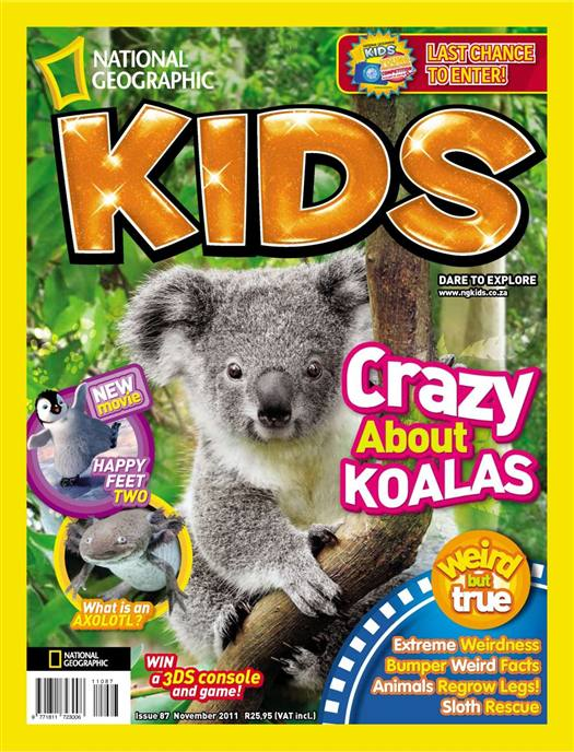 National Geographic KIDS - November 2011 / South Africa Image_21