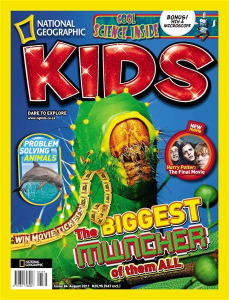 National Geographic KIDS - August 2011 / South Africa Image_24