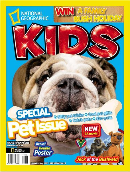 National Geographic KIDS - July 2011 / South Africa Image_25