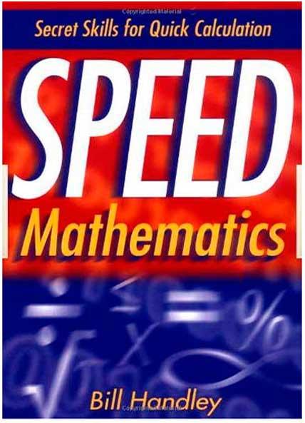 Speed Mathematics Secret Skills for Quick Calculation Speedm10