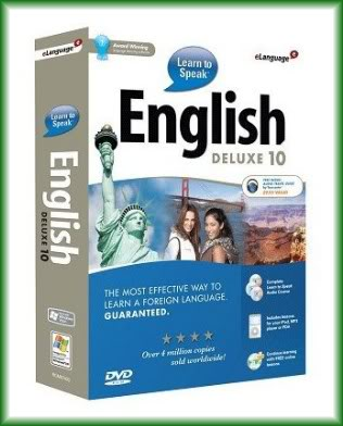Learn to Speak™ English Deluxe 10 DVD training Tieuda10