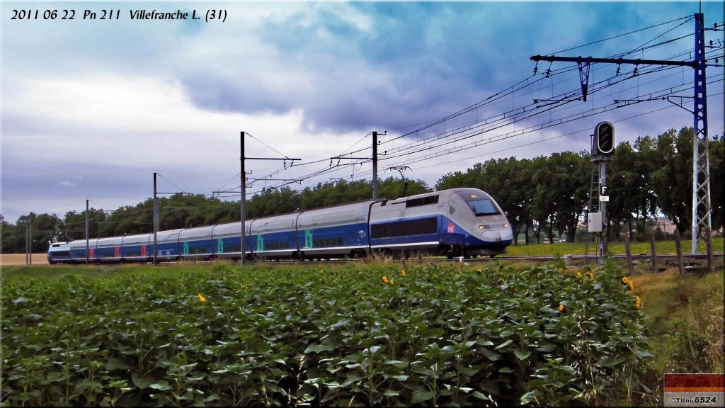 Photos et vidéos de la ligne Bordeaux - Toulouse - Narbonne - Sète (2007-2013) - Page 6 2011_037