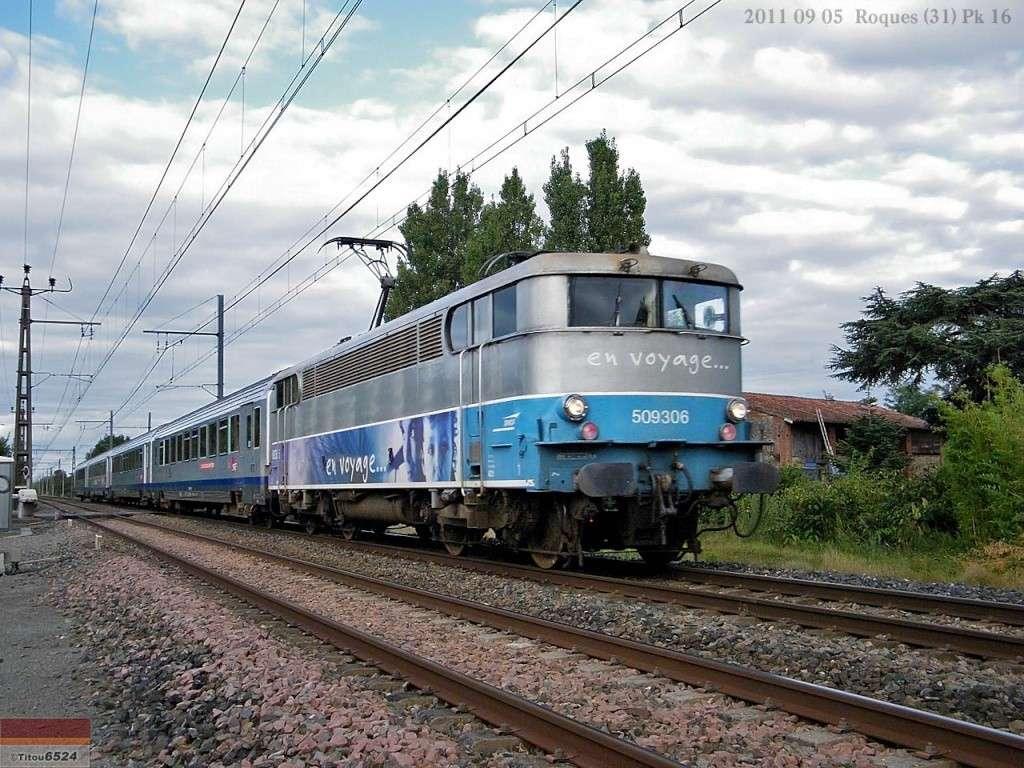 Ligne Toulouse – Bayonne: BB 9300 et autres au Pn 14  (PK 16) 2011_083