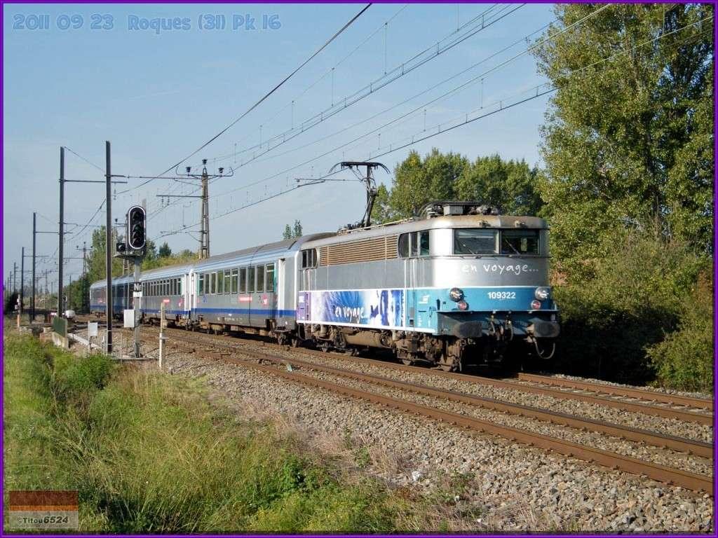 Ligne Toulouse – Bayonne: BB 9300 et autres au Pn 14  (PK 16) 2011_114