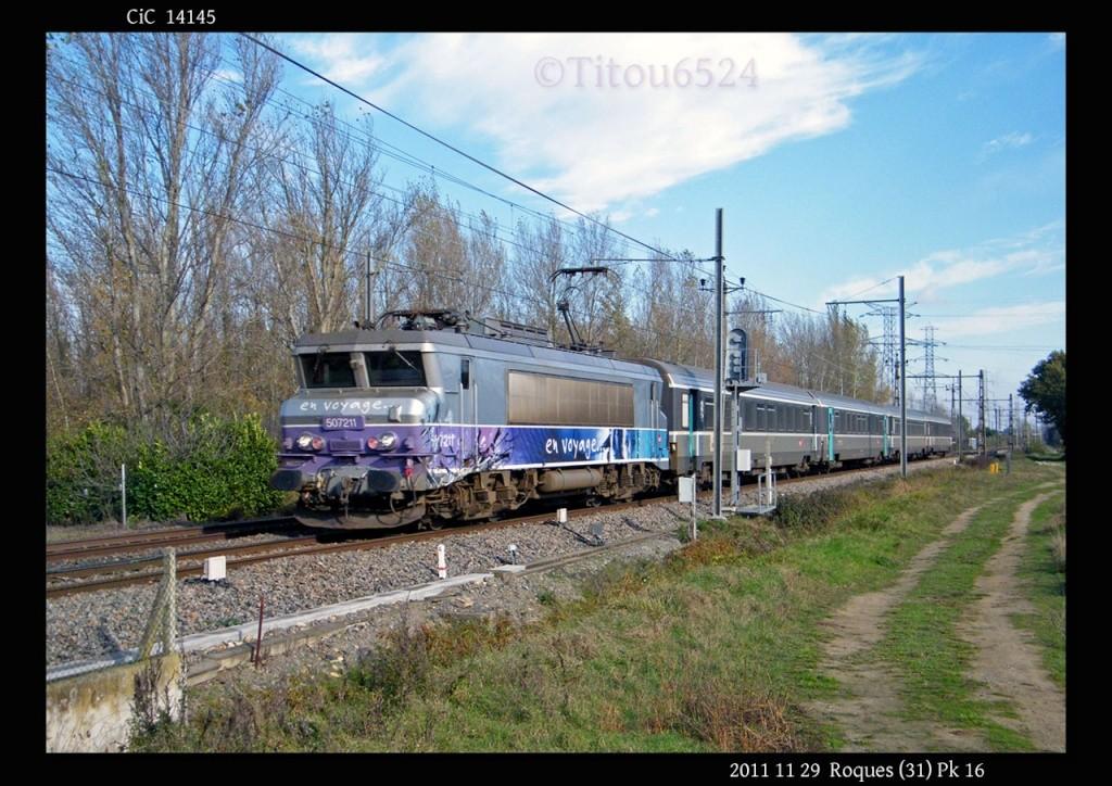 Ligne Toulouse – Bayonne: BB 9300 et autres au Pn 14  (PK 16) - Page 2 2011_166
