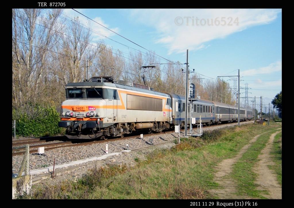 Ligne Toulouse – Bayonne: BB 9300 et autres au Pn 14  (PK 16) - Page 2 2011_167
