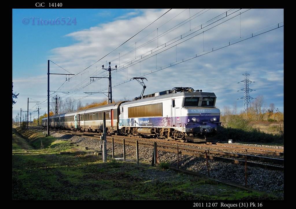 Ligne Toulouse – Bayonne: BB 9300 et autres au Pn 14  (PK 16) - Page 2 2011_181