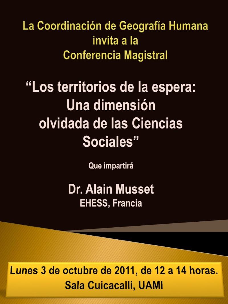 Conferencia: Los territorios de la espera Alain_10
