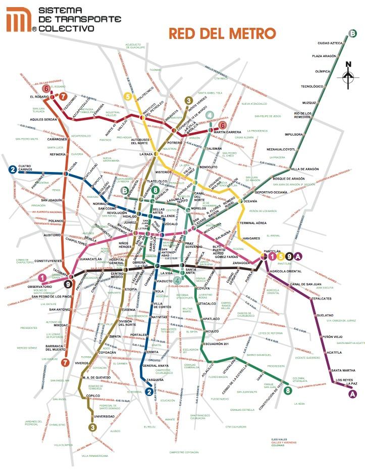 Le plan du métro de Mexico : points, lignes et territoires Fig3-m10