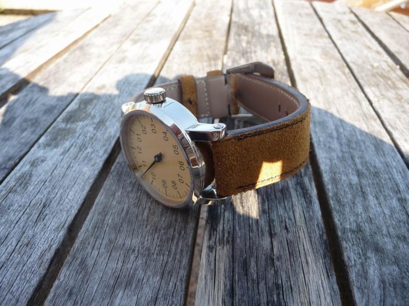 Bracelet Nubuck / Peau retournée Redime31