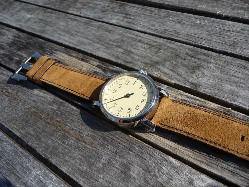 Bracelet Nubuck / Peau retournée Redime32