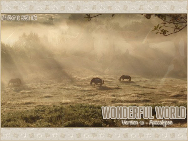 WONDERFUL WORLD L0og0o10