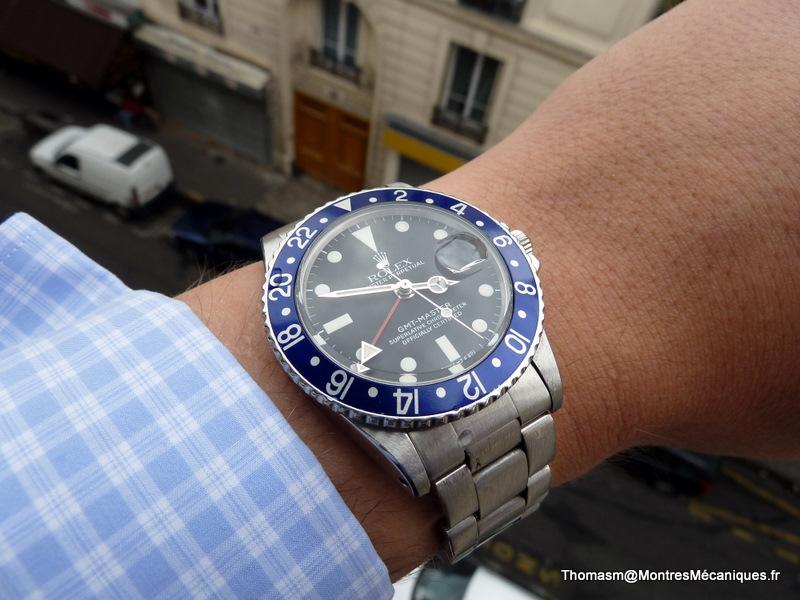 Les Rolex 1675 insert bleu P1040913